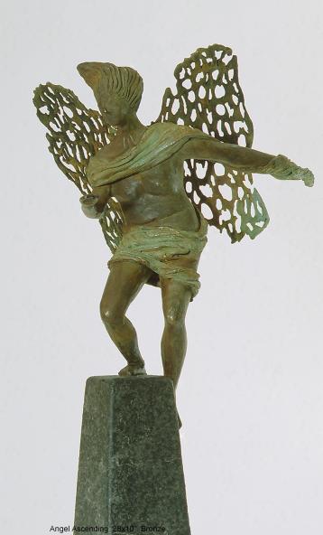 the angel ascending. 71cm
