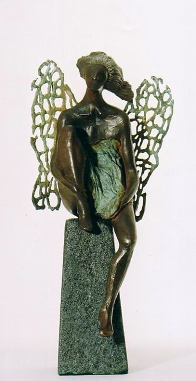angel waiting. 54 cm