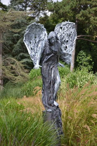 angel botanic gardens 2013 mixed media 3m ht